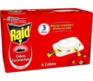 MATACUCARACHAS CEBO RAID 6 UN.