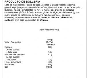 CROISSANT BOLSA BIMBO 100 GRS.