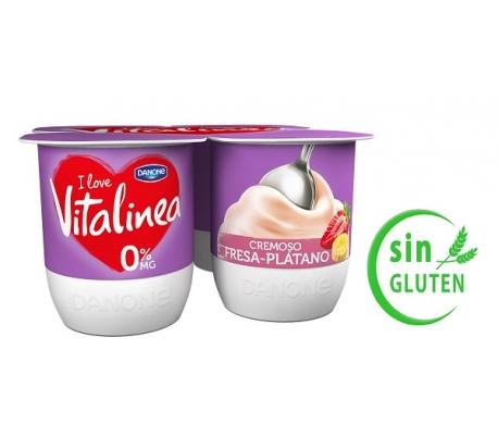 yogur-vitalinea-crema-fresa-platano-danone-pack-4x120-grs