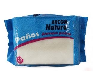PAÑOS ATRAPA POLVO ARCON NATURA 20 UDS.