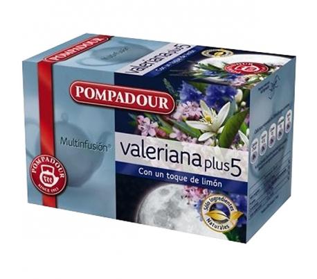 INFUSION VALERIANA PLUS POMPADOUR 20 UN.