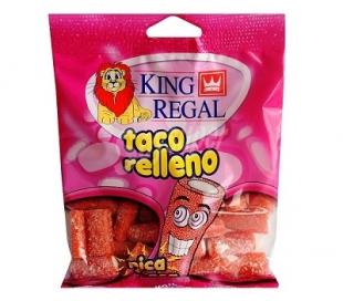 GOLOSINAS TACO R/ PICA FRESA KING REGAL 100 GRS.