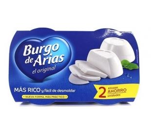 QUESO ORIGINAL BURGO ARIAS PACK 2X230 GRS.