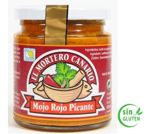 MOJO ROJO PICANTE MORTERO CAN. 230 ML.