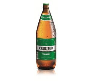 CERVEZA LAGER, BOTELLA CRUZ DEL SUR 1 L.