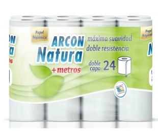 papel-higienico-doble-capa-arcon-natura-24-unidades