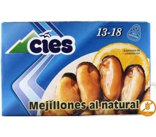 MEJILLONES NATURAL 13/18 CIES 69 GR.
