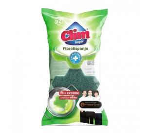 fibra-verde-con-esponja-clim-2-und