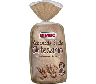 PAN DE MOLDE ESTILO ARTESANO BIMBO 550 GR.