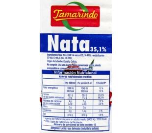 NATA MONTAR TAMARINDO 1 L.