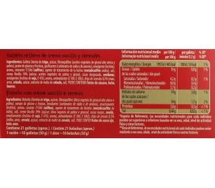 CEREALES FLAKES NOCILLA CUETARA PACK 3X35 GR.