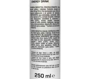 BEBIDA ENERGETICA ZERO POWERKING 250 ML.