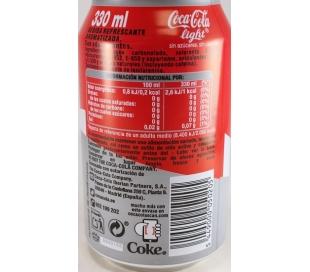 REFRESCO LIGHT COCA COLA 330 ML.
