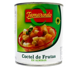 COCTEL DE FRUTAS EN ALMIBAR TAMARINDO 480 GR.