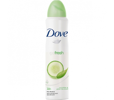 DESODORANTE SPRAY GO FRESH CUCUMB. DOVE 200 ML.