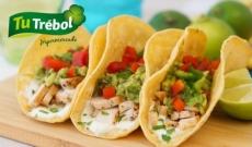 Tacos de aguacate y maiz